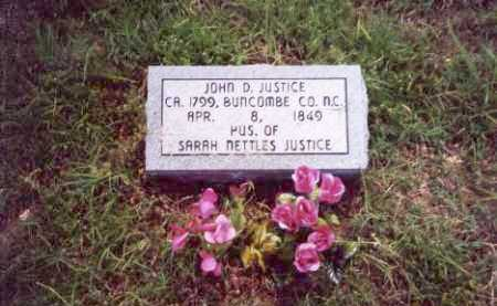 JUSTICE, JOHN DYER - Randolph County, Arkansas | JOHN DYER JUSTICE - Arkansas Gravestone Photos