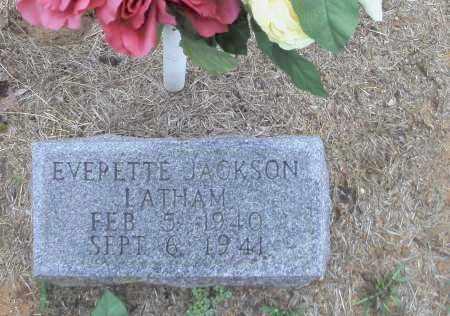 LATHAM, EVERETTE JACKSON - Randolph County, Arkansas | EVERETTE JACKSON LATHAM - Arkansas Gravestone Photos