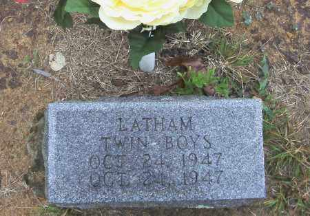 LATHAM, TWIN BOYS - Randolph County, Arkansas | TWIN BOYS LATHAM - Arkansas Gravestone Photos