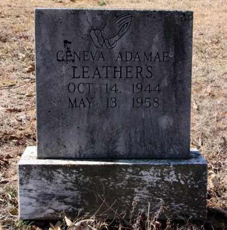 LEATHERS, GENEVA ADA MAE - Randolph County, Arkansas | GENEVA ADA MAE LEATHERS - Arkansas Gravestone Photos