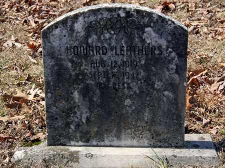 LEATHERS, HOWARD - Randolph County, Arkansas | HOWARD LEATHERS - Arkansas Gravestone Photos