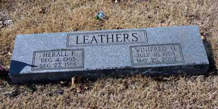 LEATHERS, HERALL - Randolph County, Arkansas | HERALL LEATHERS - Arkansas Gravestone Photos
