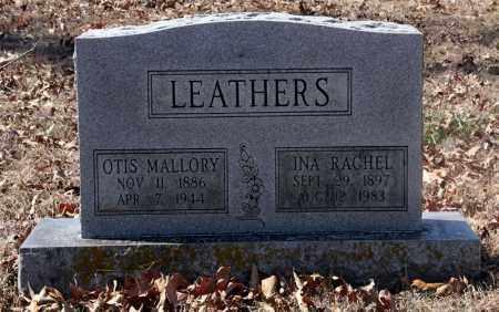 LEATHERS, OTIS MALLORY - Randolph County, Arkansas | OTIS MALLORY LEATHERS - Arkansas Gravestone Photos
