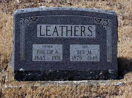 LEATHERS, BEV M - Randolph County, Arkansas | BEV M LEATHERS - Arkansas Gravestone Photos