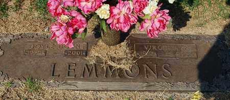 LEMMONS, VIRGINIA M. - Randolph County, Arkansas | VIRGINIA M. LEMMONS - Arkansas Gravestone Photos