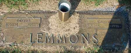 LEMMONS, DOYLE - Randolph County, Arkansas | DOYLE LEMMONS - Arkansas Gravestone Photos