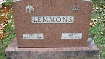 LEMMONS, MAE - Randolph County, Arkansas | MAE LEMMONS - Arkansas Gravestone Photos