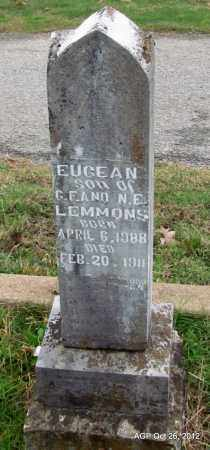 LEMMONS, EUGEAN - Randolph County, Arkansas | EUGEAN LEMMONS - Arkansas Gravestone Photos