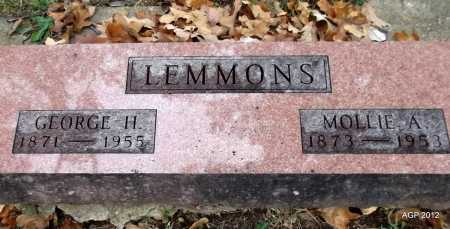 LEMMONS, GEORGE HENRY - Randolph County, Arkansas | GEORGE HENRY LEMMONS - Arkansas Gravestone Photos
