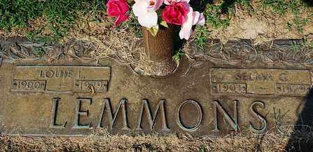 LEMMONS, SELMA G. - Randolph County, Arkansas | SELMA G. LEMMONS - Arkansas Gravestone Photos