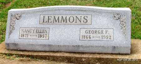 LEMMONS, NANCY ELLEN - Randolph County, Arkansas   NANCY ELLEN LEMMONS - Arkansas Gravestone Photos