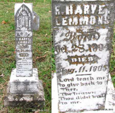 LEMMONS, R HARVEY - Randolph County, Arkansas | R HARVEY LEMMONS - Arkansas Gravestone Photos
