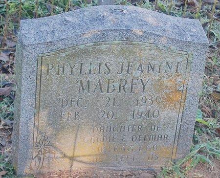 MABREY, PHYLLIS JEANINI - Randolph County, Arkansas | PHYLLIS JEANINI MABREY - Arkansas Gravestone Photos