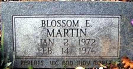 MARTIN, BLOSSOM ERNESTINE - Randolph County, Arkansas   BLOSSOM ERNESTINE MARTIN - Arkansas Gravestone Photos