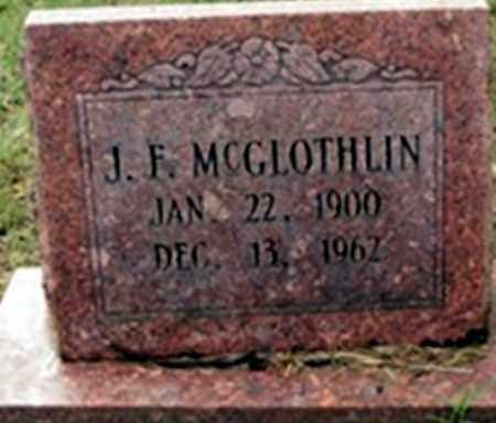 MCGLOTHIN, JOHN FRANKLIN - Randolph County, Arkansas   JOHN FRANKLIN MCGLOTHIN - Arkansas Gravestone Photos