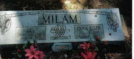 MAYFIELD MILAM, ERMA ELLEN - Randolph County, Arkansas   ERMA ELLEN MAYFIELD MILAM - Arkansas Gravestone Photos