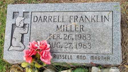 MILLER, DARRELL FRANKLIN - Randolph County, Arkansas | DARRELL FRANKLIN MILLER - Arkansas Gravestone Photos
