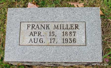 MILLER, FRANK - Randolph County, Arkansas | FRANK MILLER - Arkansas Gravestone Photos