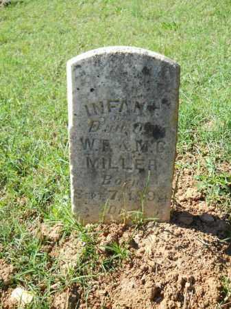 MILLER, INFANT - Randolph County, Arkansas | INFANT MILLER - Arkansas Gravestone Photos