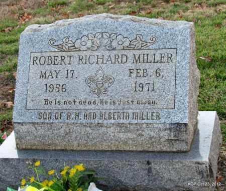 MILLER, ROBERT RICHARD - Randolph County, Arkansas | ROBERT RICHARD MILLER - Arkansas Gravestone Photos