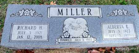 MILLER, RICHARD H - Randolph County, Arkansas | RICHARD H MILLER - Arkansas Gravestone Photos