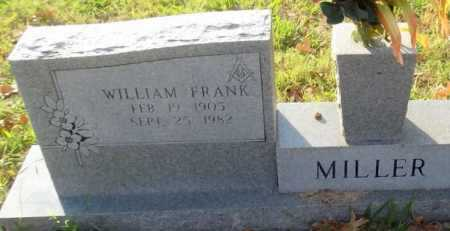 MILLER, WILLIAM FRANK - Randolph County, Arkansas | WILLIAM FRANK MILLER - Arkansas Gravestone Photos