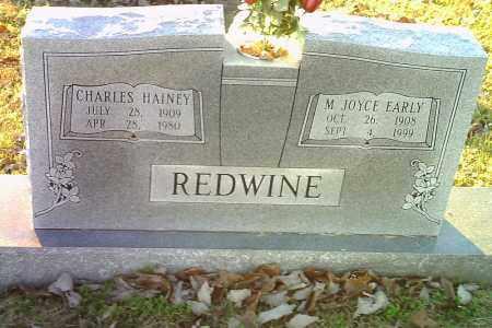REDWINE, CHARLES HAINEY - Randolph County, Arkansas | CHARLES HAINEY REDWINE - Arkansas Gravestone Photos