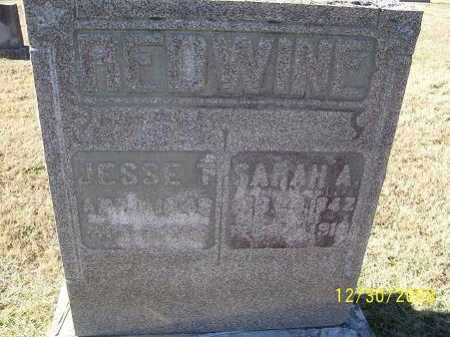 REDWINE, JESSE - Randolph County, Arkansas | JESSE REDWINE - Arkansas Gravestone Photos