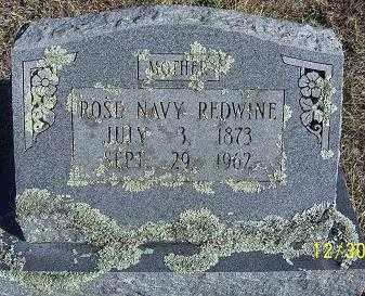 REDWINE, ROSE NAVY - Randolph County, Arkansas | ROSE NAVY REDWINE - Arkansas Gravestone Photos