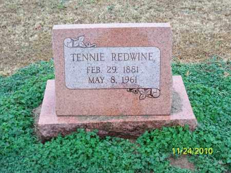 REDWINE, TENNIE - Randolph County, Arkansas   TENNIE REDWINE - Arkansas Gravestone Photos