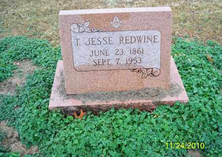REDWINE, T. JESSE - Randolph County, Arkansas | T. JESSE REDWINE - Arkansas Gravestone Photos