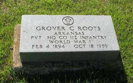 ROOTS  (VETERAN WWI), GROVER C. - Randolph County, Arkansas   GROVER C. ROOTS  (VETERAN WWI) - Arkansas Gravestone Photos