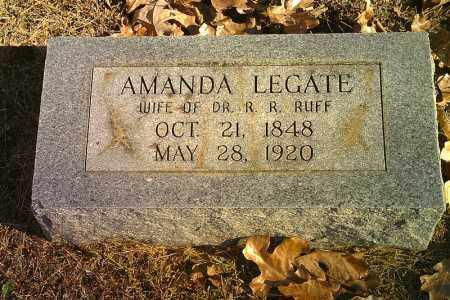 RUFF, AMANDA - Randolph County, Arkansas   AMANDA RUFF - Arkansas Gravestone Photos
