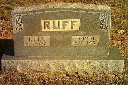 RUFF, DELL - Randolph County, Arkansas | DELL RUFF - Arkansas Gravestone Photos