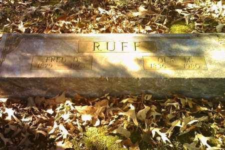 RUFF, OLA M. - Randolph County, Arkansas | OLA M. RUFF - Arkansas Gravestone Photos