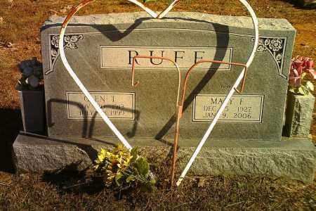 RUFF, GLEN T. - Randolph County, Arkansas | GLEN T. RUFF - Arkansas Gravestone Photos
