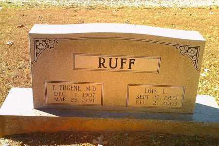RUFF, LOIS L. - Randolph County, Arkansas | LOIS L. RUFF - Arkansas Gravestone Photos
