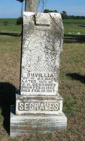 MAYS SEAGRAVES, SUVILIA - Randolph County, Arkansas | SUVILIA MAYS SEAGRAVES - Arkansas Gravestone Photos