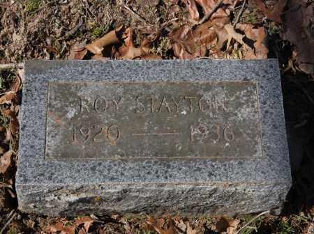 STAYTON, ROY - Randolph County, Arkansas | ROY STAYTON - Arkansas Gravestone Photos