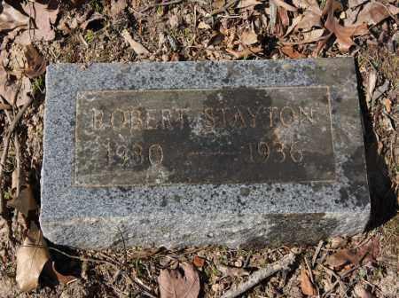 STAYTON, ROBERT - Randolph County, Arkansas | ROBERT STAYTON - Arkansas Gravestone Photos