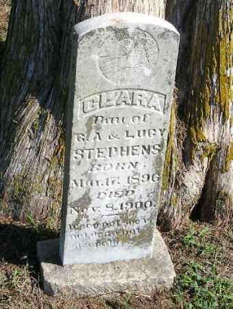 STEPHENS, CLARA - Randolph County, Arkansas   CLARA STEPHENS - Arkansas Gravestone Photos
