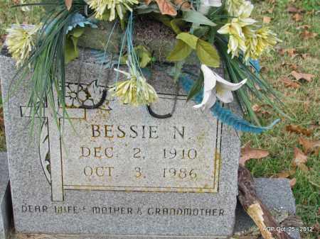STOREY, BESSIE N (CLOSE UP) - Randolph County, Arkansas | BESSIE N (CLOSE UP) STOREY - Arkansas Gravestone Photos