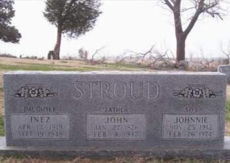 STROUD, JOHNNIE - Randolph County, Arkansas | JOHNNIE STROUD - Arkansas Gravestone Photos