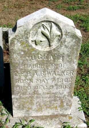 WALKER, EUGENIA - Randolph County, Arkansas | EUGENIA WALKER - Arkansas Gravestone Photos