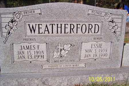 WEATHERFORD, JAMES FARRIS - Randolph County, Arkansas   JAMES FARRIS WEATHERFORD - Arkansas Gravestone Photos