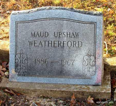 WEATHERFORD, MAUD - Randolph County, Arkansas | MAUD WEATHERFORD - Arkansas Gravestone Photos