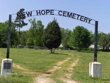 *NEW HOPE CEMETERY,  - Saline County, Arkansas |  *NEW HOPE CEMETERY - Arkansas Gravestone Photos