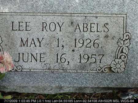 ABLES, LEE ROY - Saline County, Arkansas | LEE ROY ABLES - Arkansas Gravestone Photos