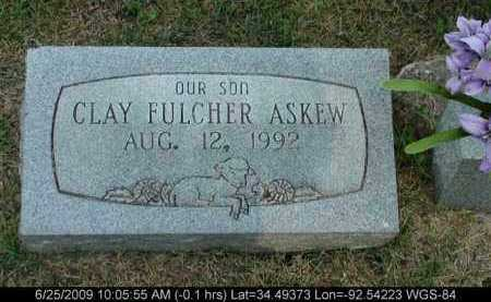 ASKEW, CLAY FULCHER - Saline County, Arkansas | CLAY FULCHER ASKEW - Arkansas Gravestone Photos