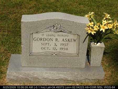 ASKEW, GORDON R - Saline County, Arkansas   GORDON R ASKEW - Arkansas Gravestone Photos